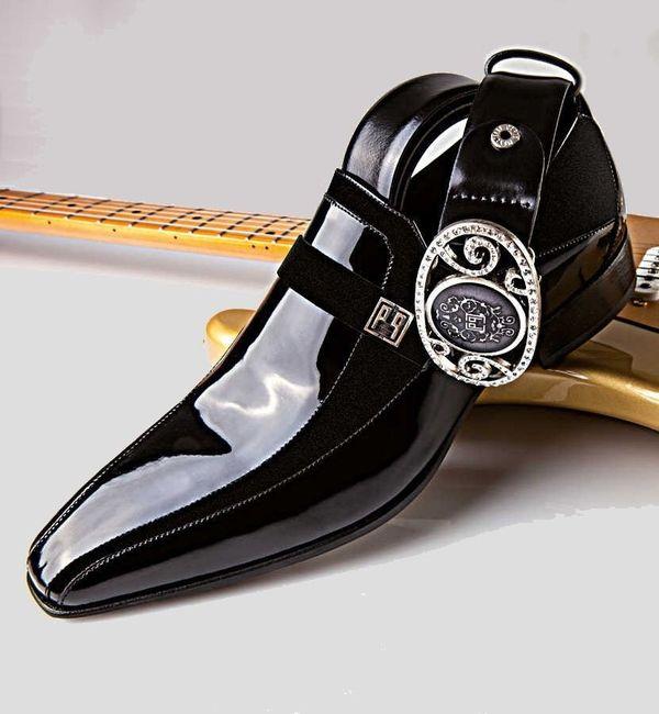 Scarpe Matrimonio Uomo : Idee scarpe per lo sposo estivo colore nero moda