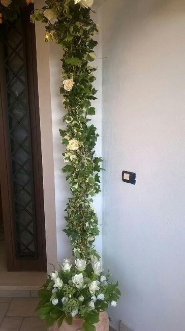 Decorazioni fuori la porta della sposa - 4