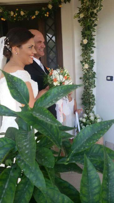 Decorazioni fuori la porta della sposa - 5