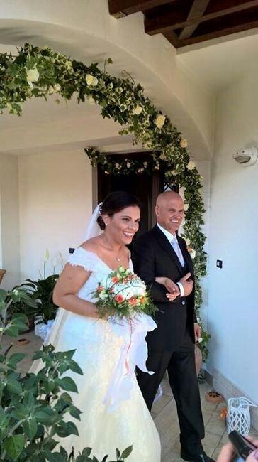 Decorazioni fuori la porta della sposa - 6