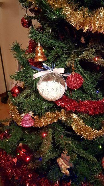 Palline di Natale per scelta testimoni pronte!!! 😍😍 3