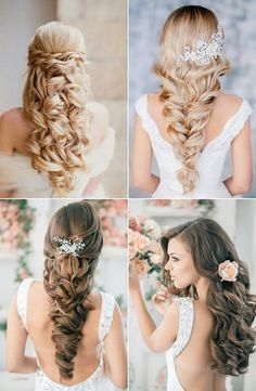 Acconciature sposa per capelli lunghi medi o corti Donna Moderna - acconciature  cerimonia capelli lunghi 64db5a6fd409