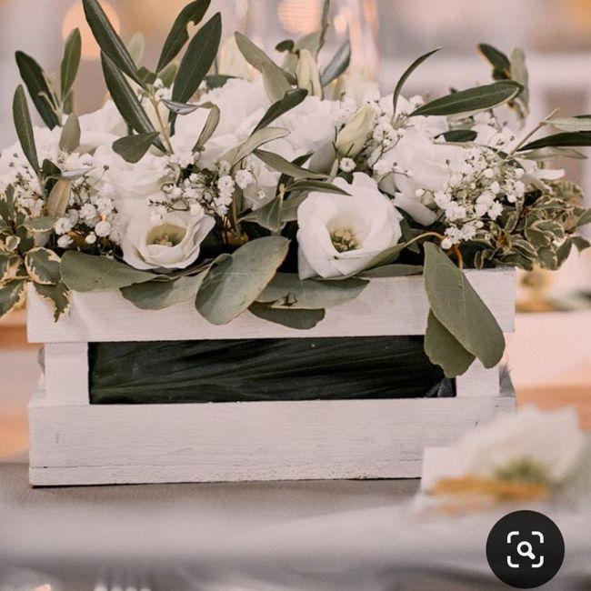 Centrotavola: fiori freschi o altro? 1