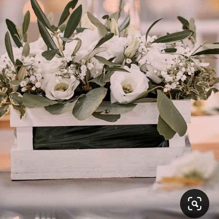 Centrotavola: fiori freschi o altro? - 1