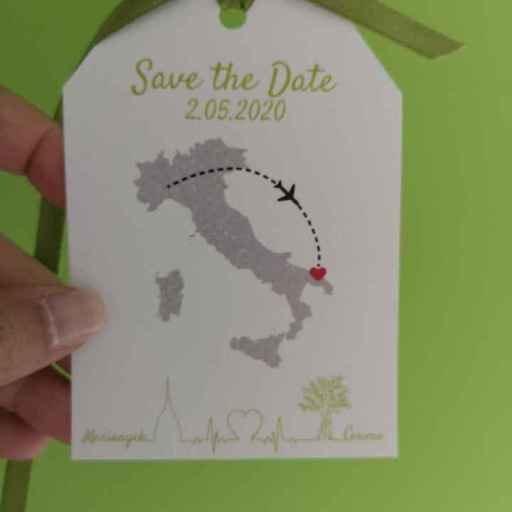 """Idee per il """"save the date"""" - 1"""