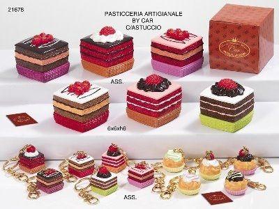 scatoline a forma di torta