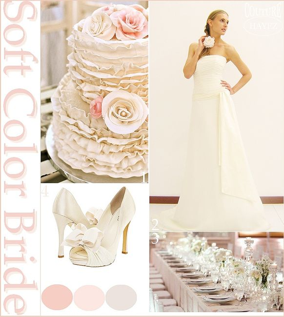 Matrimonio In Rosa : Idee matrimonio in rosa cipria pagina moda nozze