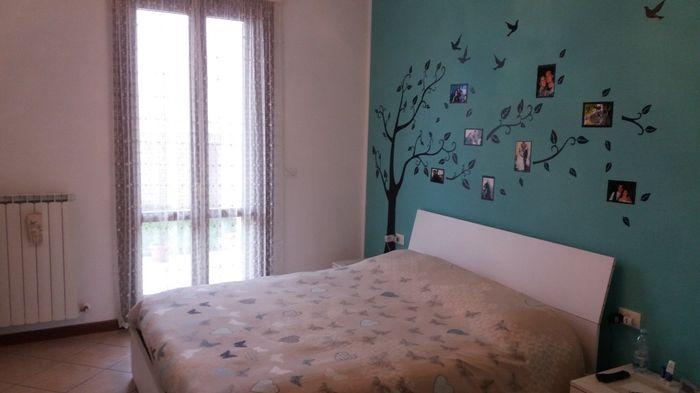Testata letto cartongesso parete cartongesso per testata letto home improvements nel arredo - Parete testata letto dipinta ...