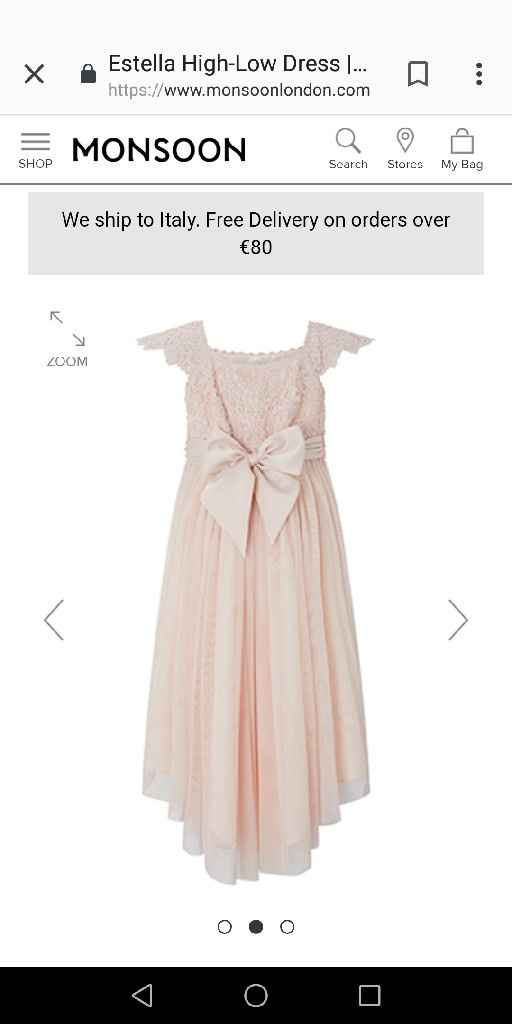 Vestiti damigelle rosa 😍 - 2
