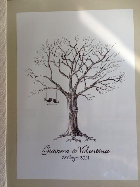 Favoloso Il nostro albero delle impronte - Organizzazione matrimonio  GB42