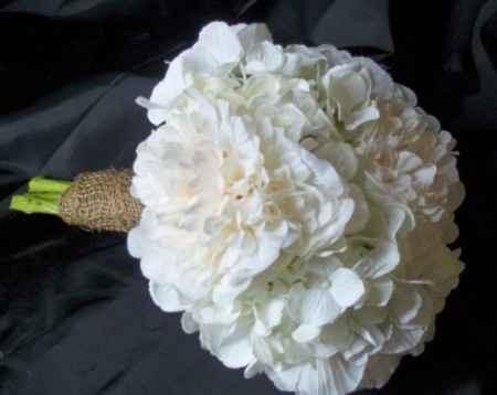 bouquet peonie ed ortensie