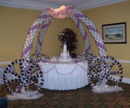 Idee allestimento tavolo con torta nuziale ricevimento for Decorazioni nuziali