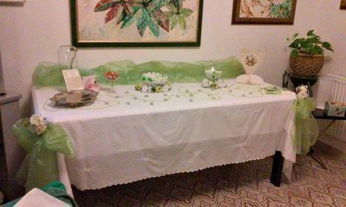 Tavolo a casa della sposa fai da te forum - Addobbi matrimonio casa della sposa ...