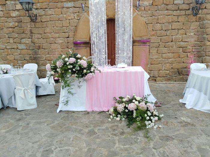 Alcuni particolari della mia location nel gg del mio matrimonio! 3