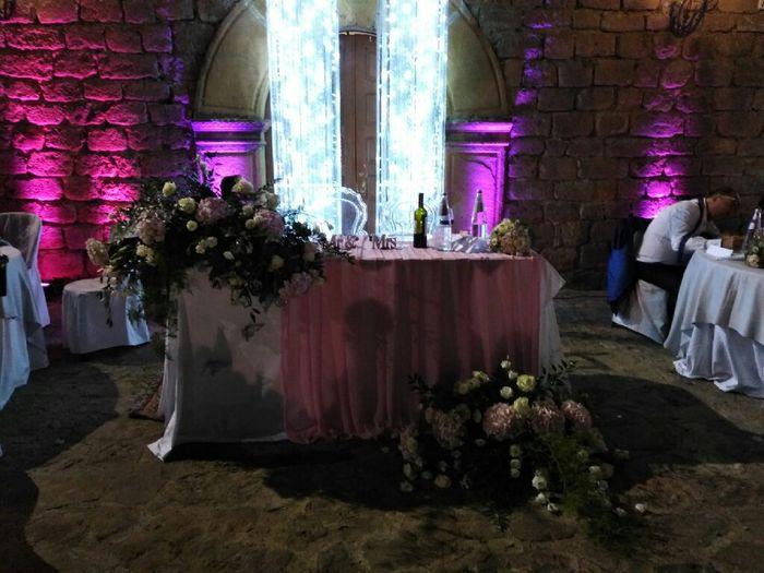 Alcuni particolari della mia location nel gg del mio matrimonio! 5
