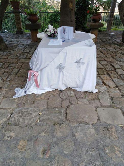 Alcuni particolari della mia location nel gg del mio matrimonio! 8