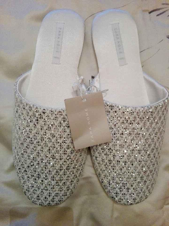 Pantofole preparazione sposa????? - 1