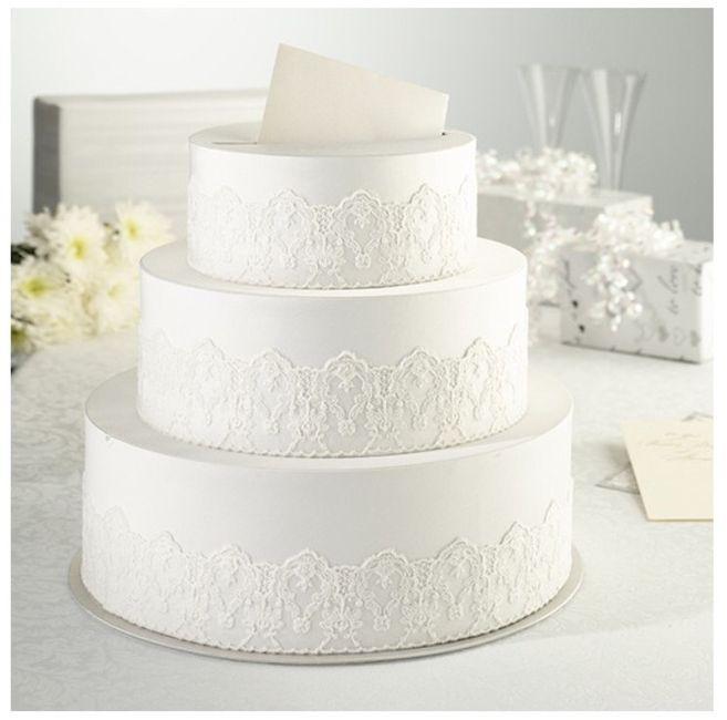 Favorito Idee torta portabuste - Fai da te - Forum Matrimonio.com NC89
