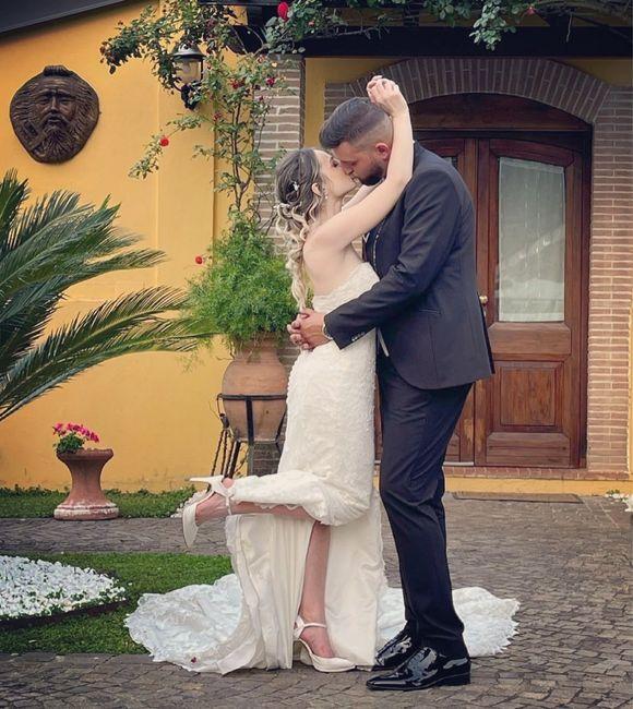 Finalmente ! Siamo marito e moglie 🤍 1