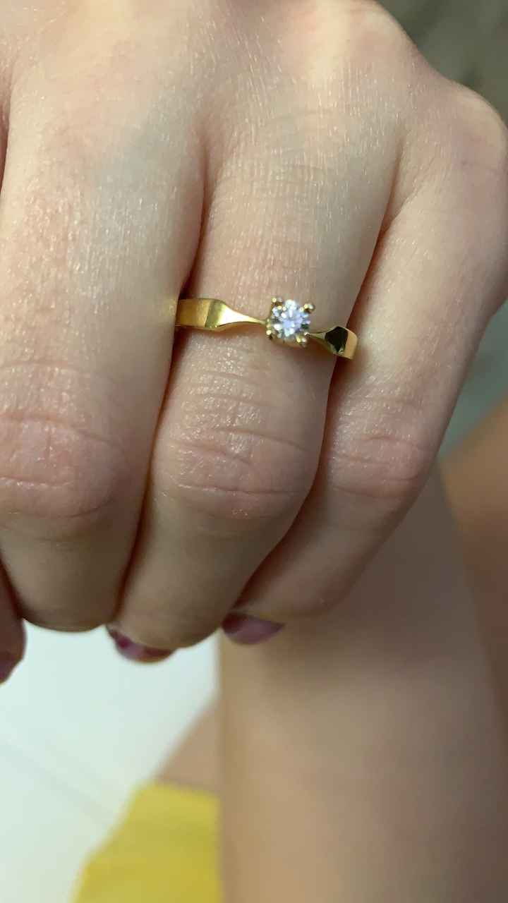 Quando hai ricevuto il tuo anello di fidanzamento? - 1