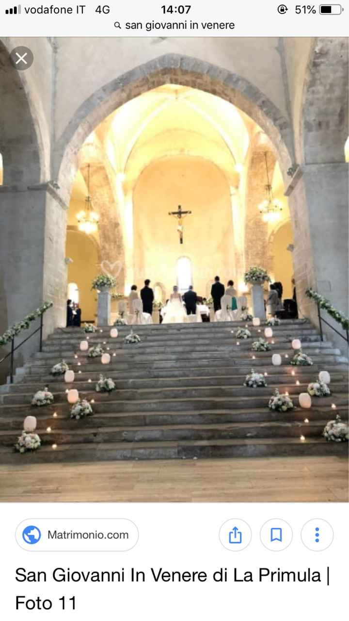 Elementi floreali chiesa - 1