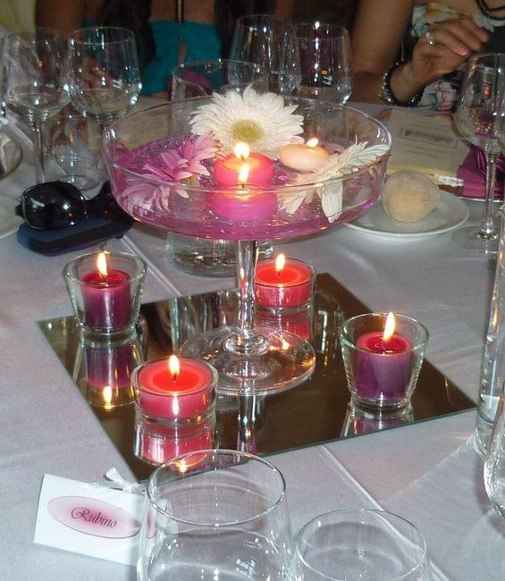Centrotavola idea per il mio tema fai da te forum - Vasetti vetro ikea ...
