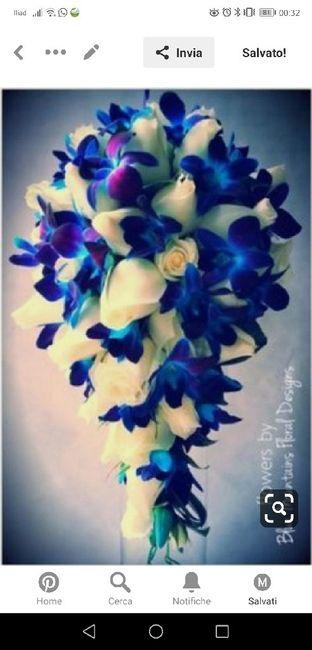 Bouquet rose blu - 1