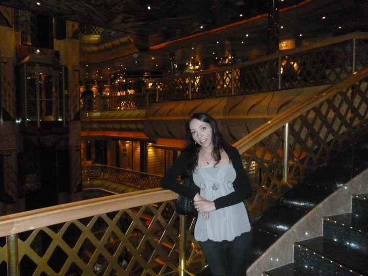 nelle scale della nave