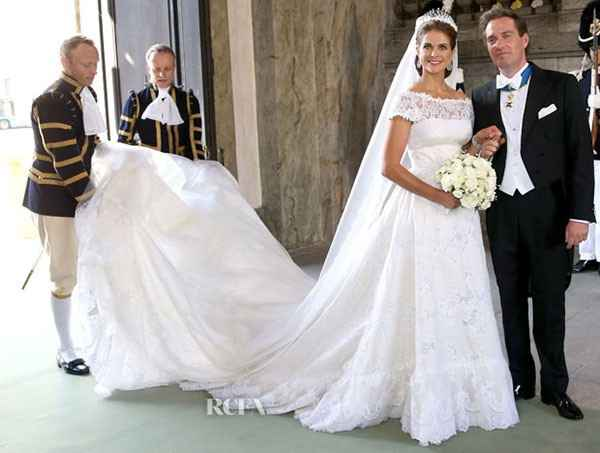 La principessa Maddalena di Svezia, sua sorella