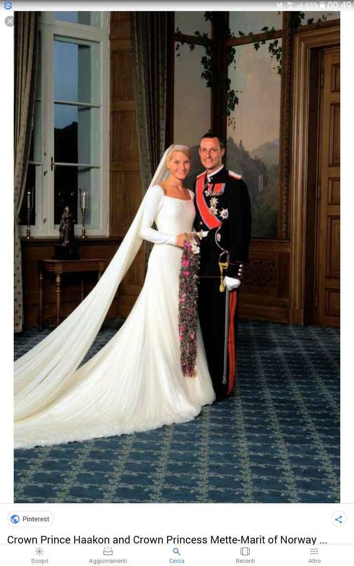 Questa bella biondina di nata origini umili è Mette-Marit, ha sposato in seconde il principe eredita
