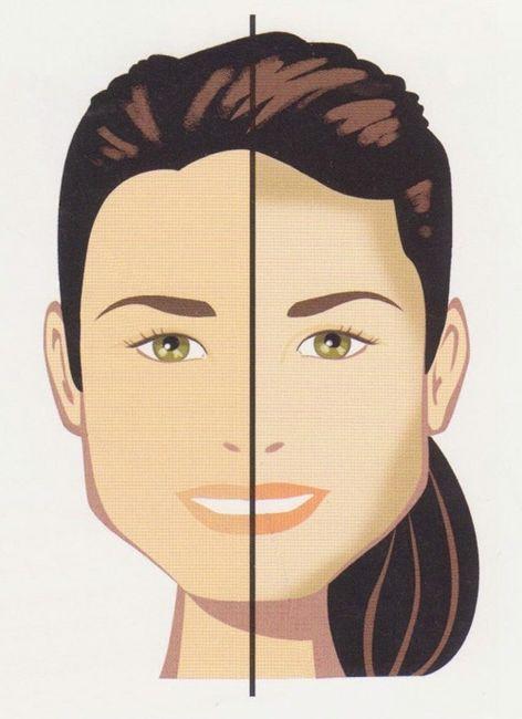 Cura di acne su una faccia della casa