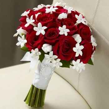 Bouquet tema rosso - 1