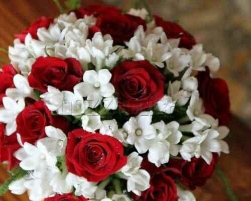 Bouquet tema rosso - 2