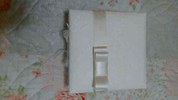Scatola porta confetti - 1