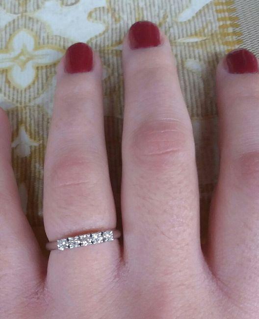 Anello di fidanzamento 14