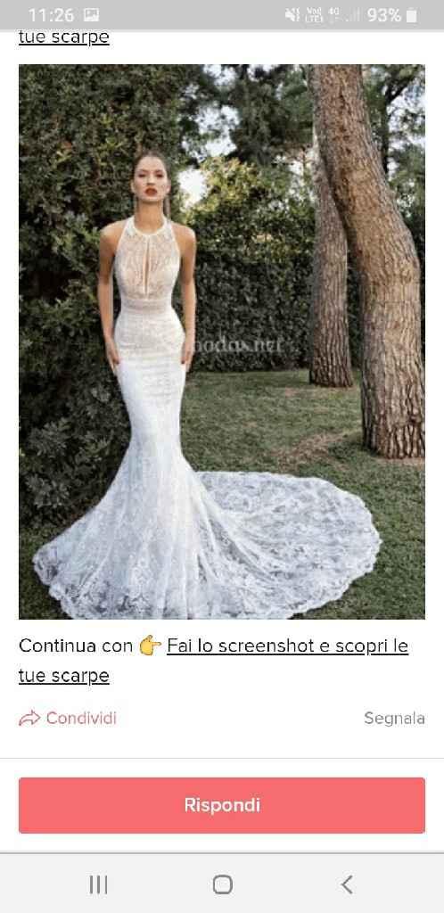 Fai lo screenshot e scopri il tuo abito da sposa - 1