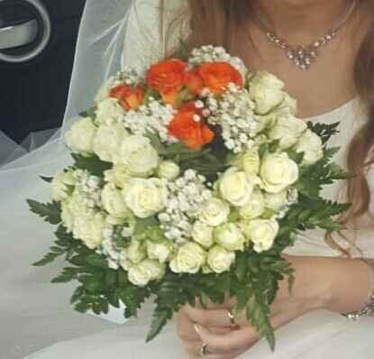 20 bouquet arancioni per le tue nozze - 1