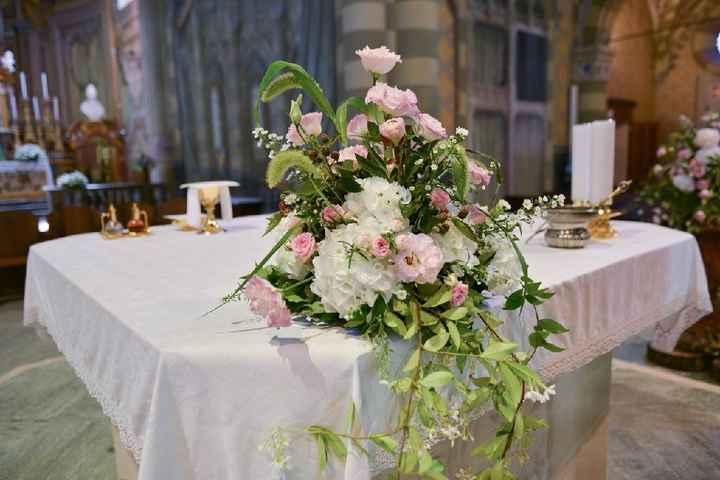 Elementi floreali chiesa - 2