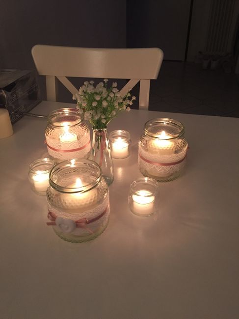Molto Vasetti e candele come centrotavolama quante?? - Fai da te  AE11