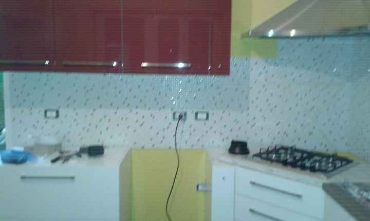 Cucina laccata,opaca o effetto decorativo - 2