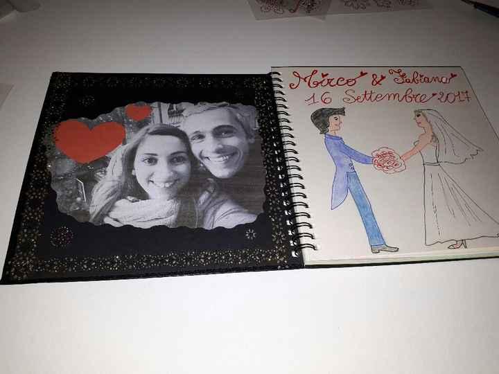 Album dediche lista nozze - 2