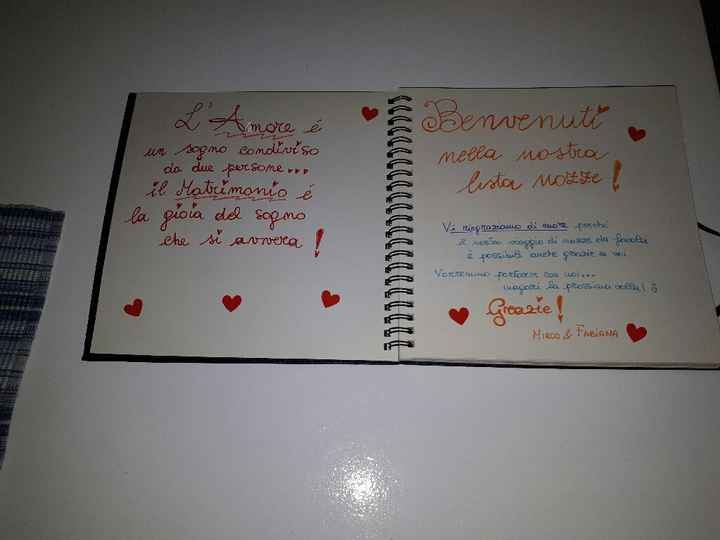 Album dediche lista nozze - 3