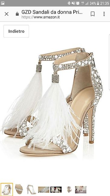 Scarpe Sposa Jimmy Choo Amazon.Scarpe Ordinate Speriamo Bene Moda Nozze Forum Matrimonio Com