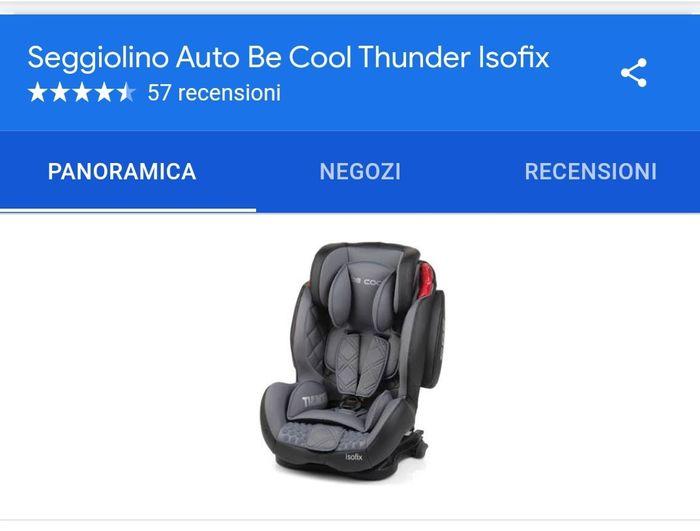 Seggiolino auto be cool - 1
