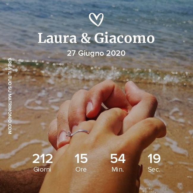 Condividete lo screenshot del vostro countdown! 26
