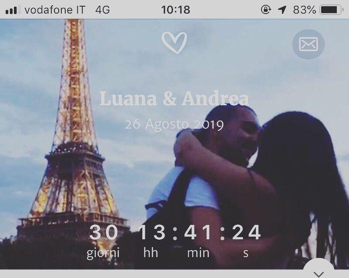 1 mese esatto! 😍 - 1