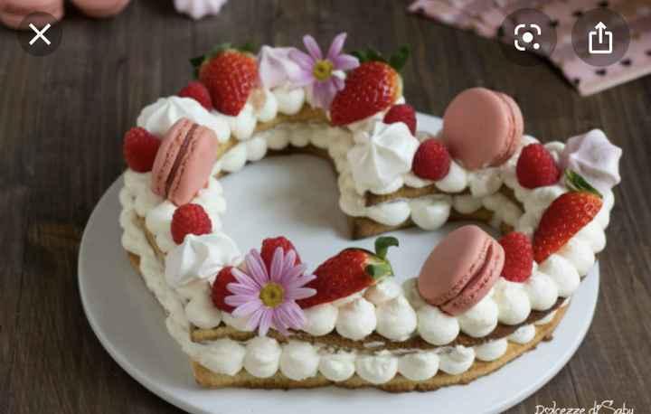 Torta nuziale Roma - 1