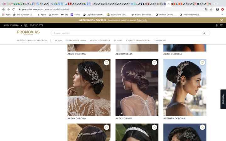 Prezzo accessori capelli Pronovias - 1