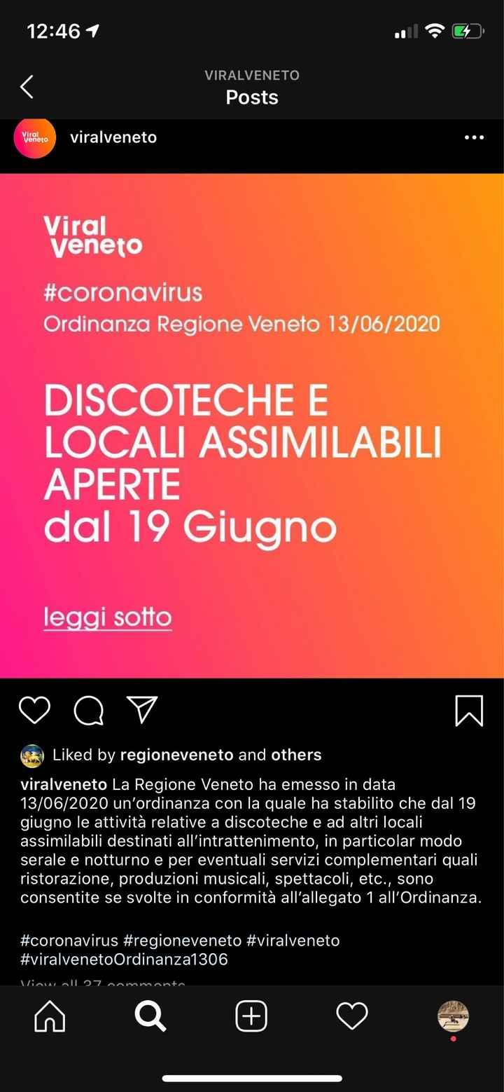 Finalmente possiamo dirlo, i matrimoni sono tornati in tutta Italia! - 1