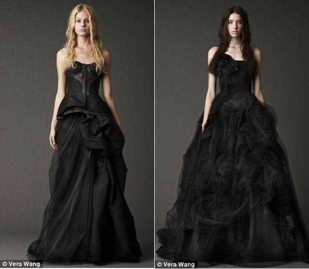 f7c9f0a4b1d4 La sposa in nero...per chi ama lo stile dark...io la trovo ...